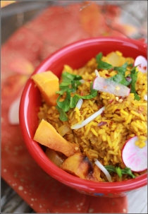 Colorful Kitchari Courtesy of Dena T Bray Ⓒ