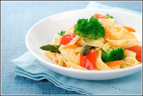 Pasta Primavera for Susan Reade.com Ⓒ