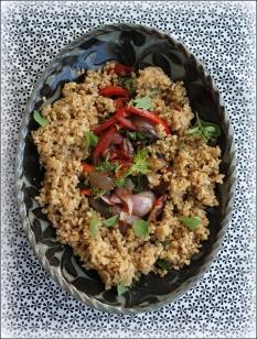 Greens and Rice Pilaf, Courtesy of Dena Bray Ⓒ