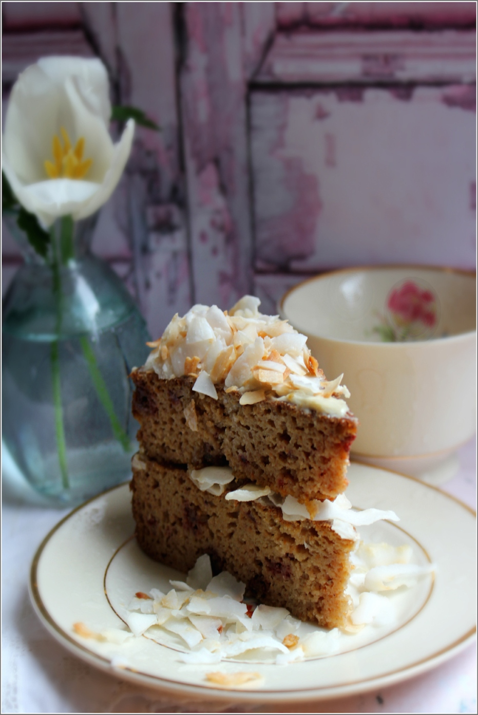 Make Healthy Choices, Gluten-Free Carrot & Coconut Cake