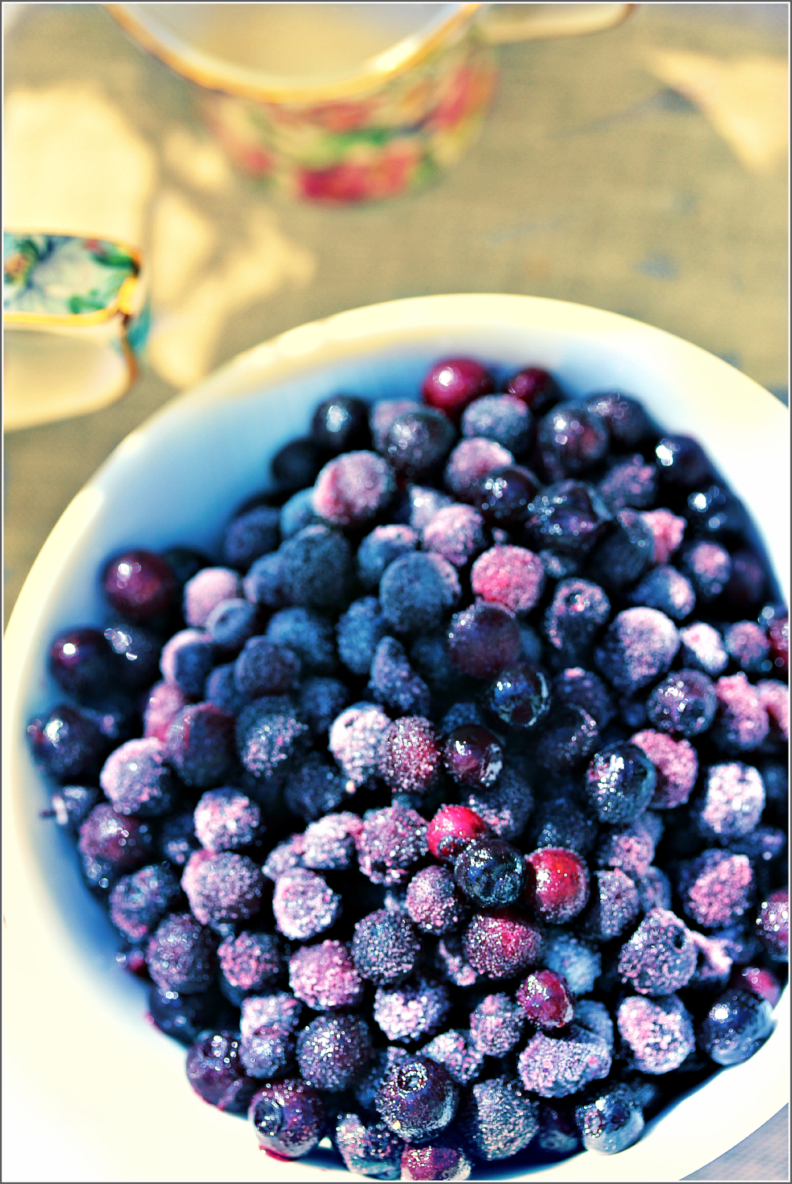 Eat Well, Sunlit Blueberries